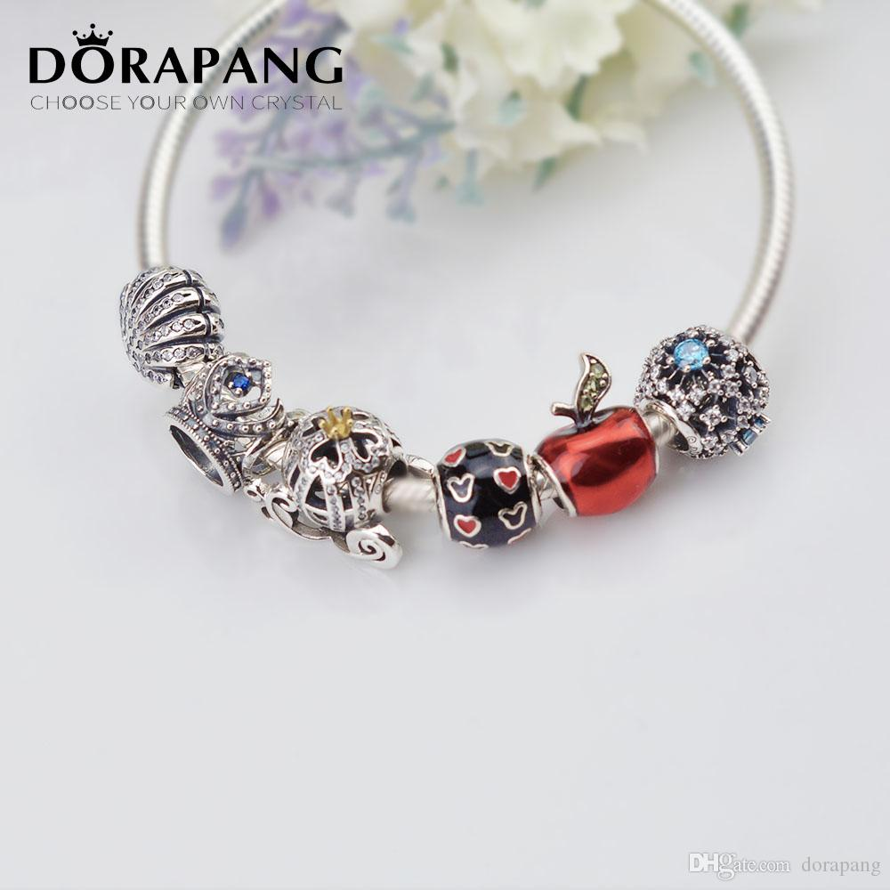 European Silver Charms Beads Jewelry Christmas Gifts For Sterling Bracelet Chain