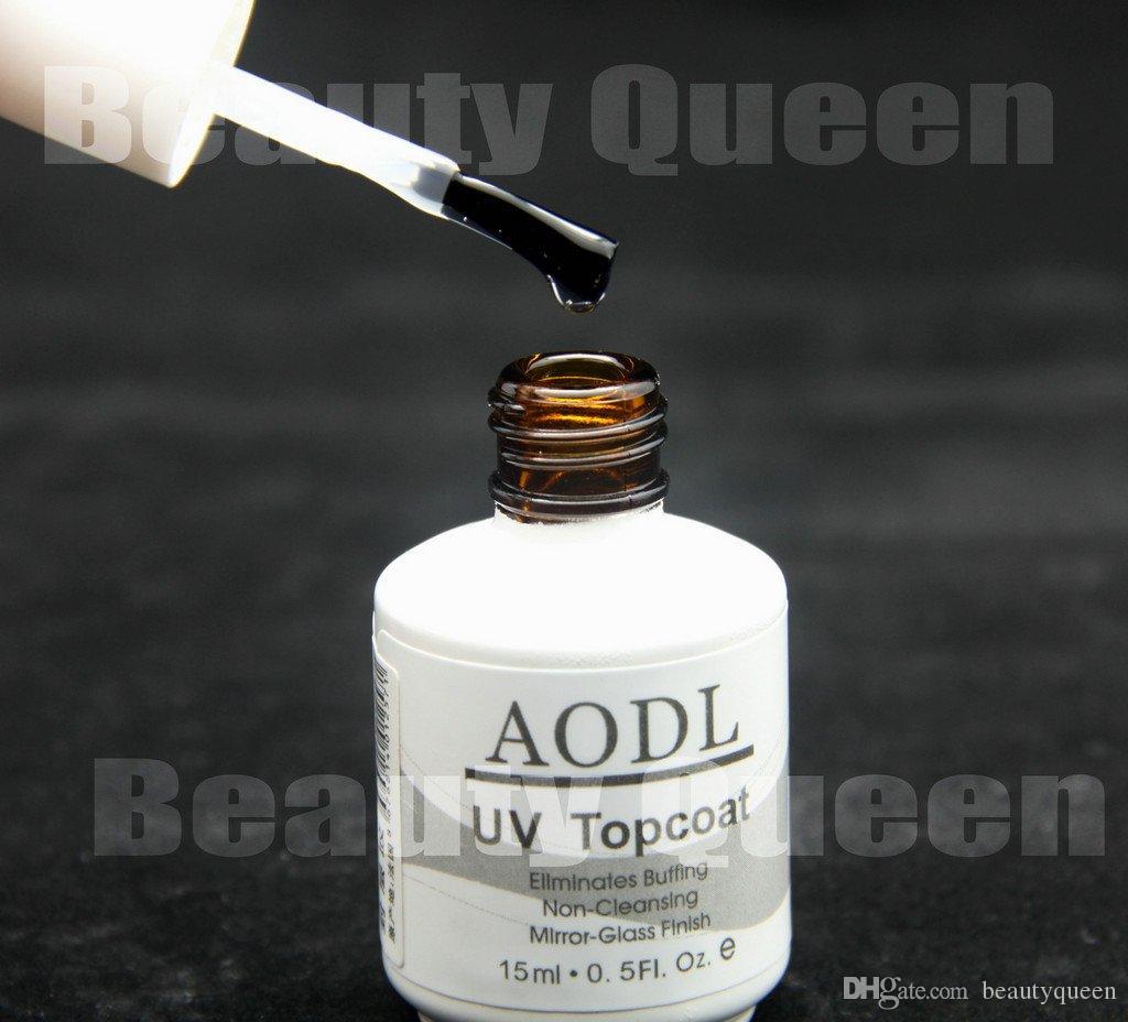 Cleanser Top Coat * Schnelltrocknend Nach dem Aushärten klebrig Proffession Salon Nail Art Tränken Sie den Top Coat für UV-Gelpoliermittel LED NEU * AODL