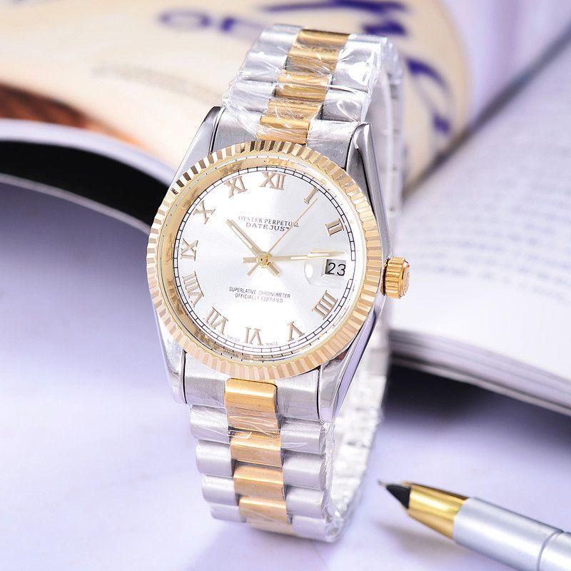 relogio masculino luxury designer mens watches automatic daydate casual brand full mechanical movement fashion men automatic watch clock