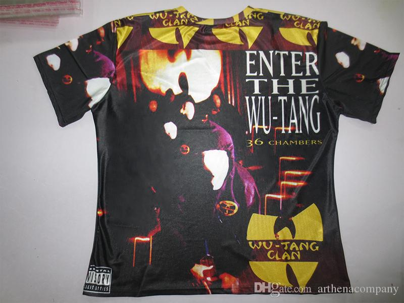 Wu Tang Clan 36 Chambers sublimation T shirt fZimxh