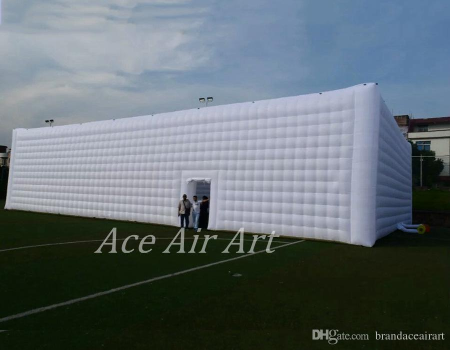 easy set up portable 15X30m inflatable party wedding tent hot sale, inflatable party tent 20x30