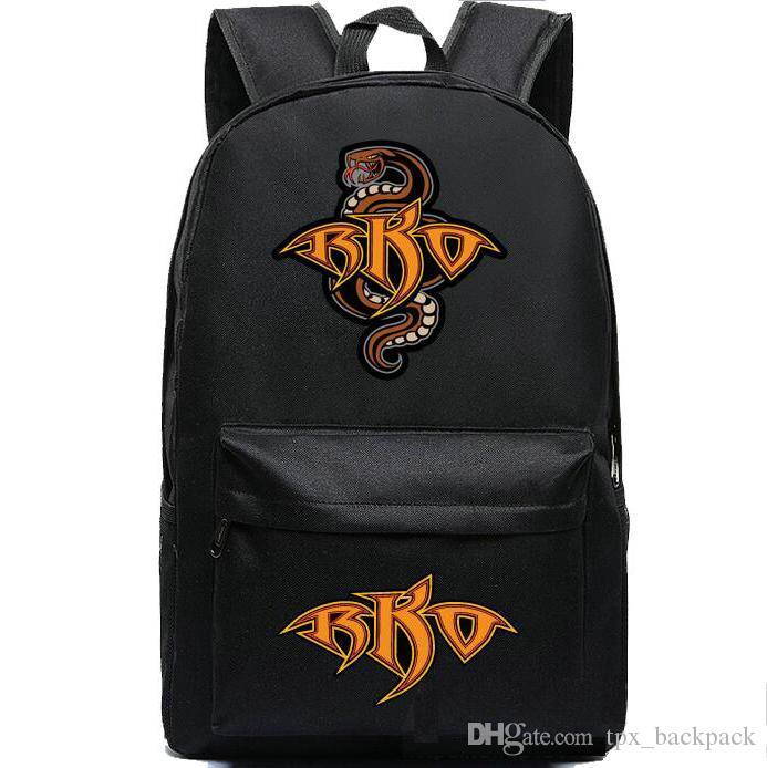 راندي أورتن على ظهره حقيبة المدرسة RKO حزمة اليوم مهارة المصارعة بارد ثعبان packsack الجودة حقيبة الرياضة المدرسية Daypack حقيبة في الهواء الطلق