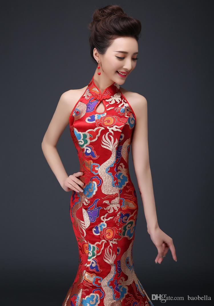 Robe de cocktail en chine