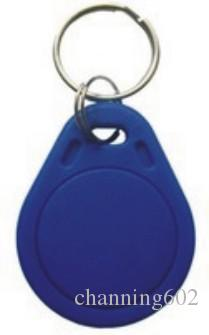Bigset remise prix usine promotionnel imprimé 100 / lot personnalisé de haute qualité puce F08 à distance porte-clé