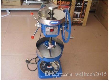 Manuale / Elettrico Snow Ice machine Ice Crusher Ice Shaver Snow Cone Maker 220V