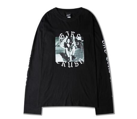 Wholesale Vlone X Off White Long Sleeve T Shirt Men Women Hip Hop ...