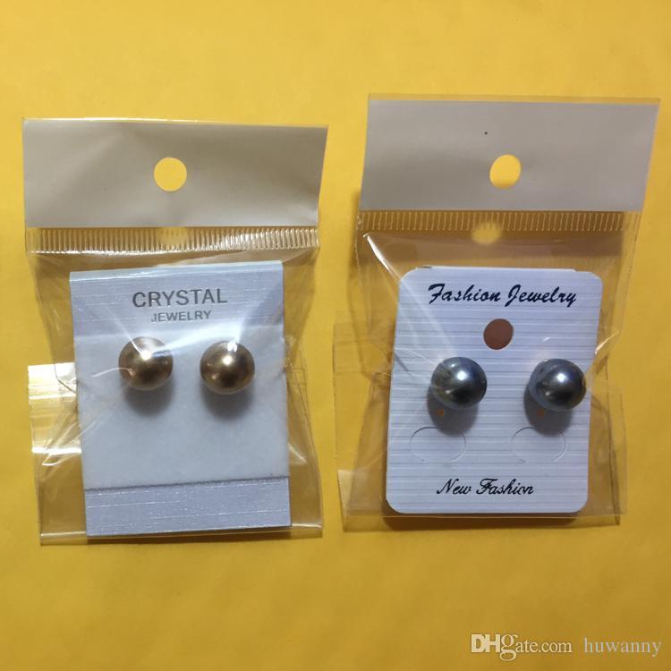 Najwyższej klasy Silver Stud Kolczyki Gorąca Sprzedaż Moda Pearl Kolczyki Dla Kobiet Dziewczyna Party Jewelry Hurtownie Darmowa Wysyłka 0003lde