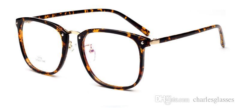TR90 Azetat optische Rahmen Männer / Frauen Mode Brille Rahmen für Verordnung 3116