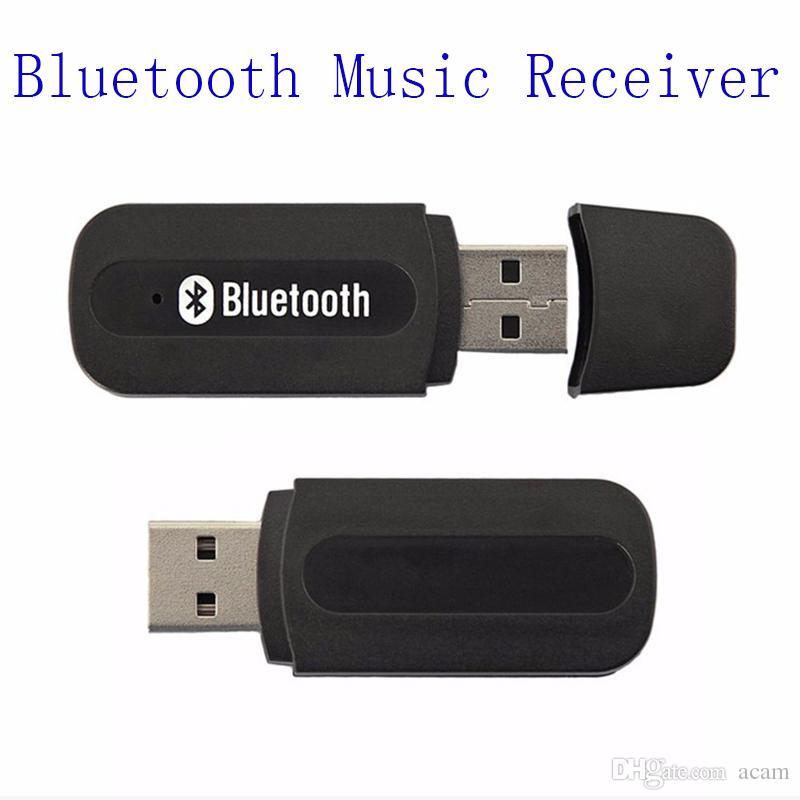 Universal 3.5mm Adaptador Receptor De Música De Áudio Estéreo Sem Fio USB Bluetooth Para iphone 7 plus samsung s7 s8 edge android phone opp pacote