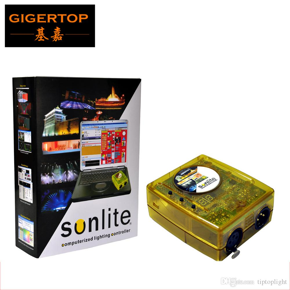 TP-D11 100% Real-versie Sunlite 1024 USB DMX512 Controller Ondersteuning Windows XP Sunlite DMX Lighting Hi-kwaliteit USB-besturingsfase licht