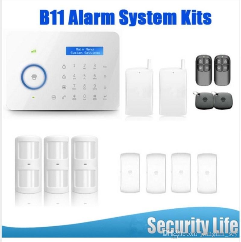 LS111- Android IOS App B11 Chuango Dual network PSTN and GSM burglar Security Alarm System CGP315kit