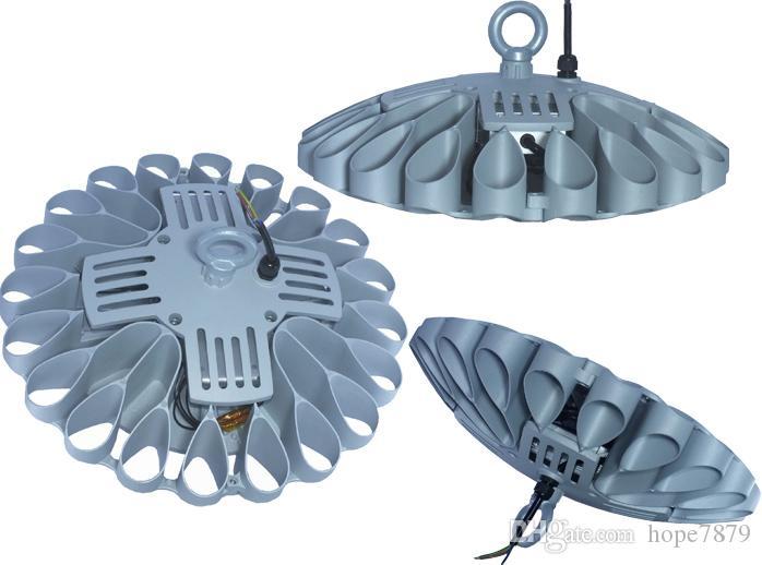 UFO 120W 150W 180W 200W 250W LED 조명 높은 베이 빛 경기장 램프 UL meanwell 드라이버 SMD 3030 칩 3 년 보증