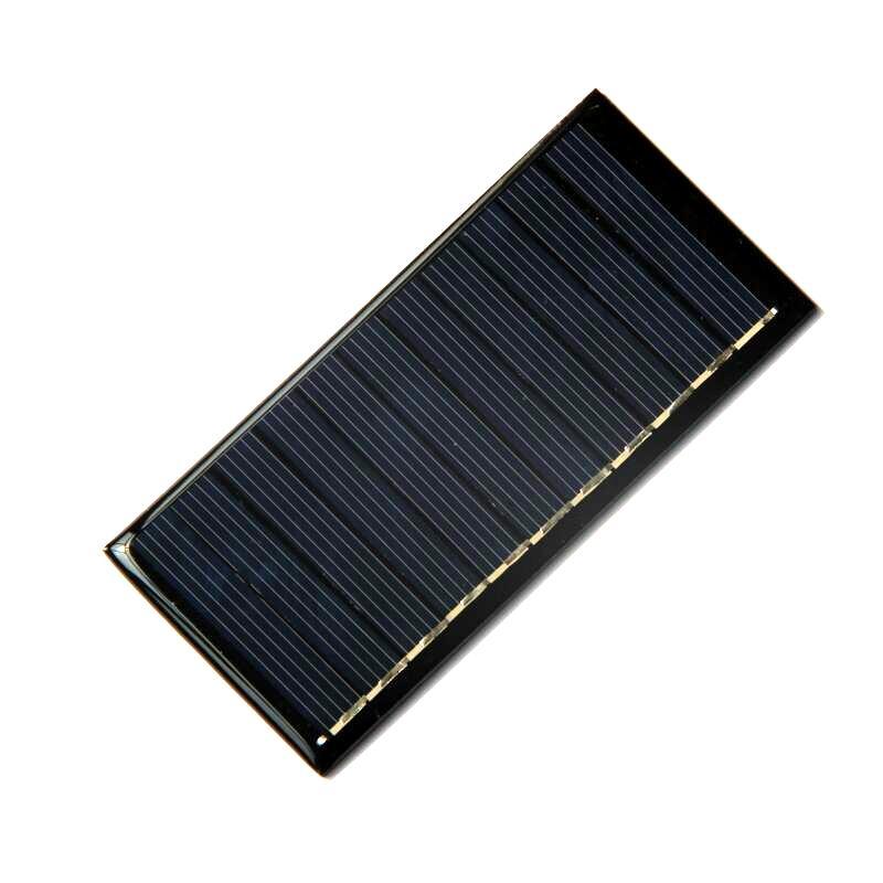 BUHESHUI Mini 0.55W 5.5V Polycrystalline Solar Panel Solar Cell DIY System Solar Charger For 3.7V Battery Education Kits 95*44MM 10Pcs/lot