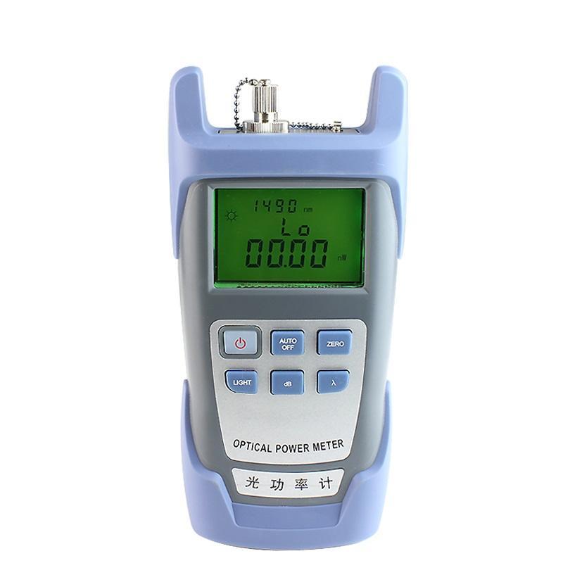 Neue FTTH Fiber Optical Power Meter 9 Glasfaserkabel Tester Optische Tester 70dBm ~ + 10dBm