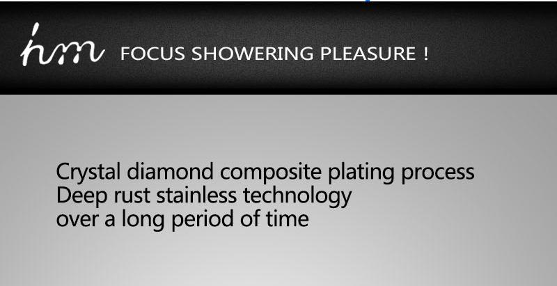 Bathroom Shower Valve Large Water Flow Solid Shower Accessories 5 ways Chrome Brass Panel Diverter Faucet Tap Shower Controller (9)