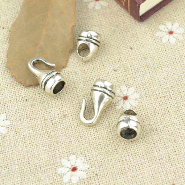 12*9 мм 17*10 мм 30 компл. античный тибетский серебряный подвески тумблер застежка крюк металлические разъемы diy ювелирных изделий аксессуары 3313