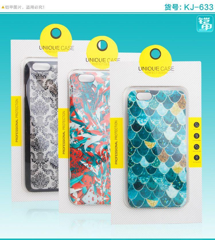 vendita all'ingrosso Universale Pesonalize Design a prova di polvere perfetto Design cassa del telefono per iphone 7 7plus con finestra in PVC Blister