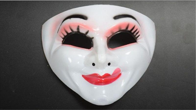 2017 yeni moda harikalar alice kırmızı kraliçe maskesi cosplay parti