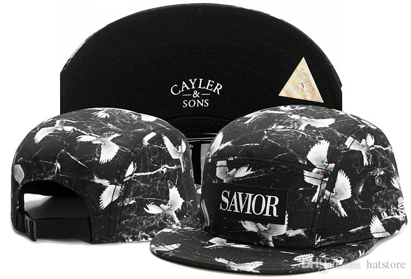 New Men Cayler Sons Cap Hip Hop Baseball Snapback Adjustable Street Black Hat 5#