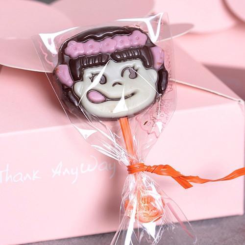 Sacos de pirulito auto adesivo pequeno bonito sacos de biscoitos de plástico de embalagem para o bebê chuveiro de dia das crianças fontes do partido de casamento