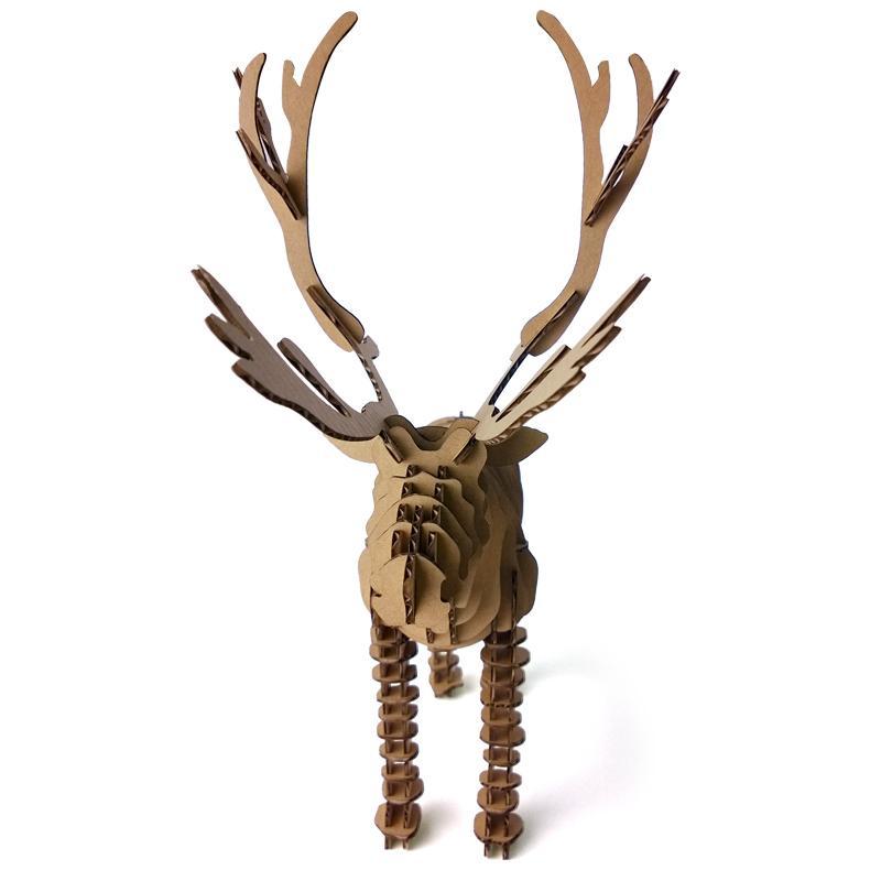 Bien-aimé Acheter 3d Puzzle Deer Noël Renne Décoration Jouet Bricolage  CT91