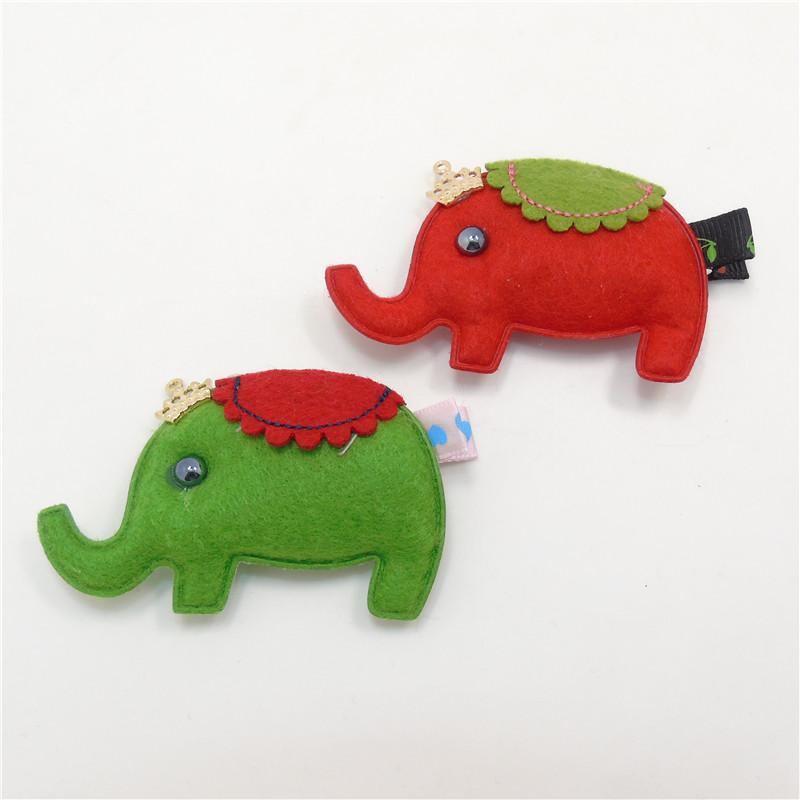 2020 Handmade Felt Elephant Hair Clip Red And Green Christmas Animal Hair Barrettes Toddler Crown Cartoon Elephant Hairpin From Smoke Factory 19 86 Dhgate Com Over 11,505 baby elephant pictures to choose from, with no signup needed. dhgate com