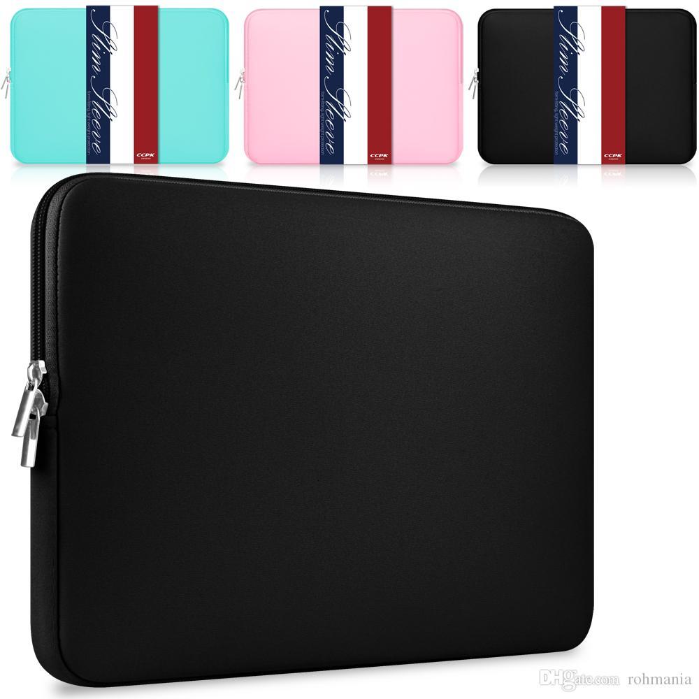 """Laptop Sleeve 13 pouces 11,6 12 15,4 pouces pour MacBook Air Pro Retina Display 12.9"""" Housse iPad Sac souple pour Apple Samsung Notebook Sleeve"""