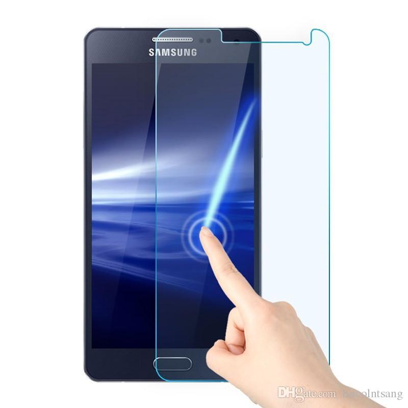 2017 NUOVO 9H 0.26 MM protezione dello schermo in vetro temperato a prova di esplosione per samsung galaxy note 2 3 4 5 7 N7100 N7102 N9009 N9106V Note4 500 pz