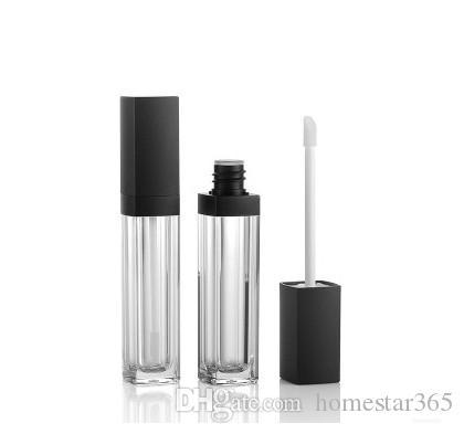 10 ml tube vide de brillant à lèvres Arcylic, tube rechargeable de rouge à lèvres haut de gamme de bricolage, contenant de crème de cils de qualité supérieure