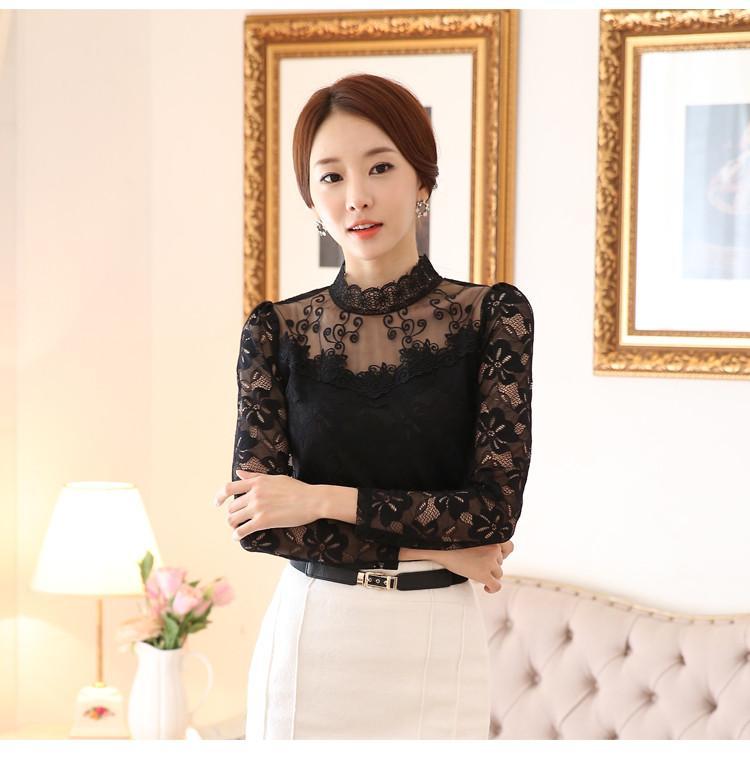 lace blouse 524