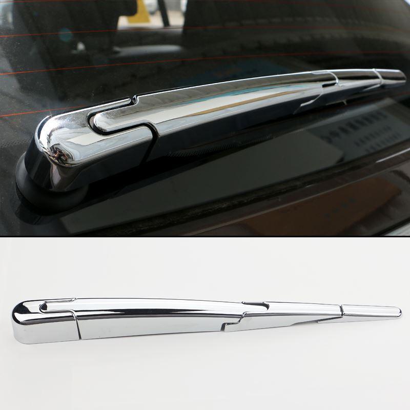 ABS Chrome Car Styling exterior Wiper Trasera cubierta de la etiqueta engomada para Kia Sportage 2016 2017 KX5 Auto accesorios