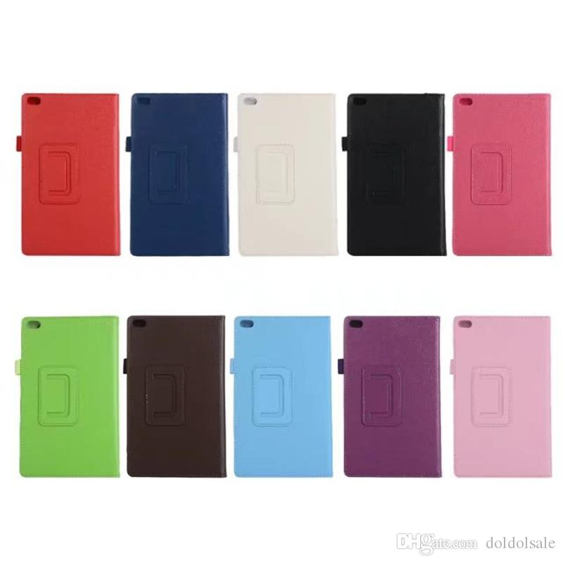 Business PU Leather Case Cover for Lenovo TAB 4 8 TB-8504N TB-8504F TB-8504 8 inch Tablet PET Screen Protector Stylus Pen 30pcs