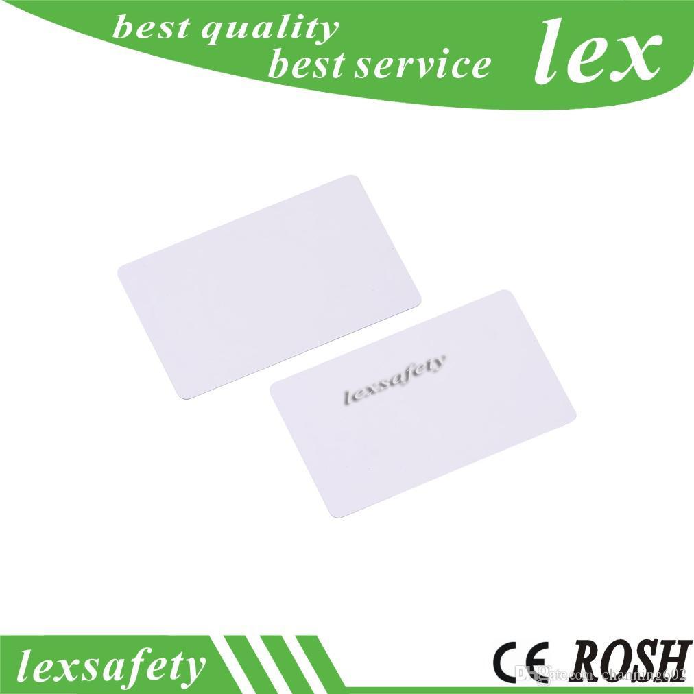 meilleur 100pcs basse fréquence de puce RFID T5577 T5557 / Atmel5567 125 carte blanche de carte vierge blanche d'IC lisible en lecture-écriture réécriture pour le contrôle d'accès
