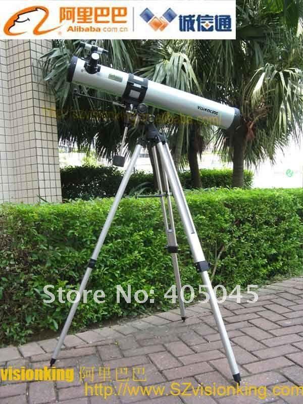 Visionking 76900 (76 / 900mm) Espaço de Montagem Equatorial Astronômico Telescópio Espaço Explore Astronomia Telescópio Monóculos de Alta Qualidade