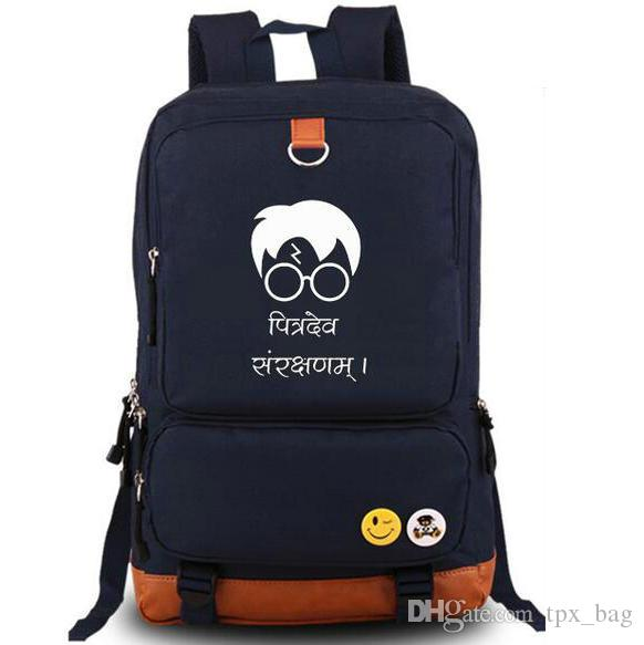 Expecto Patronum backpack Harry Potter daypack Tour cartoon schoolbag Quality rucksack Sport school bag Outdoor day pack