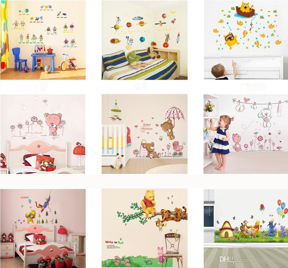 wholesale removable wall stickers home decals kids room wall wholesale removable wall stickers home decals kids room wall stickers nursery wall decor 50x70cm