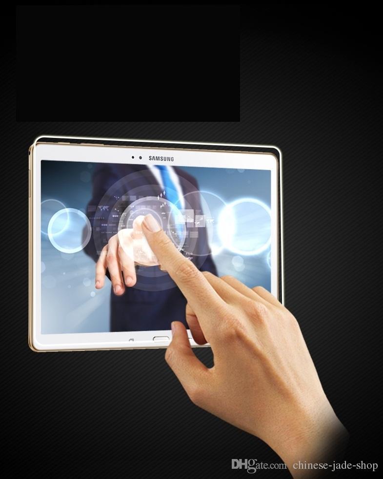 Per Samsung Galaxy Tab T530 T550 T560 T800 T815 P580 P580 T800 T815 P580 P585 T377 P580 P585 T377 9H Protezione schermo in vetro temperato 50pcs / lot