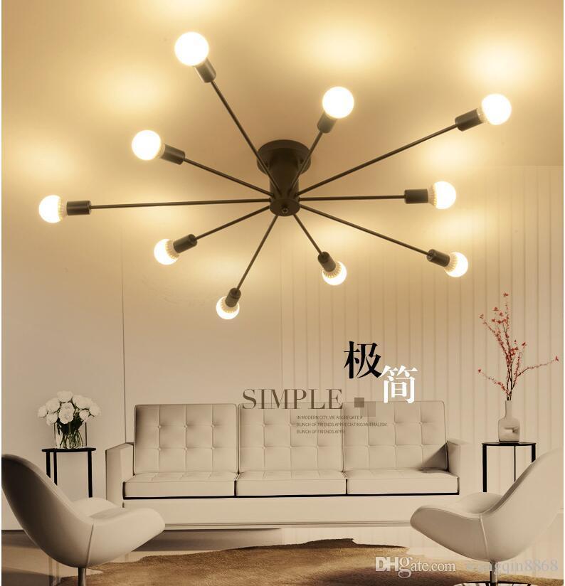 Großhandel Nordischen Stil Wohnzimmer Absorbierende Kuppel Licht