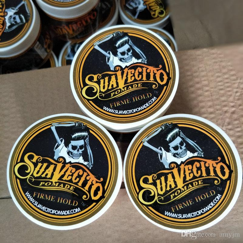 24pcs Suavecito Pomade Hair Gel Style firme hold Pomades Waxes Strong hold restoring ancient ways big skeleton slicked back hair oil 113g