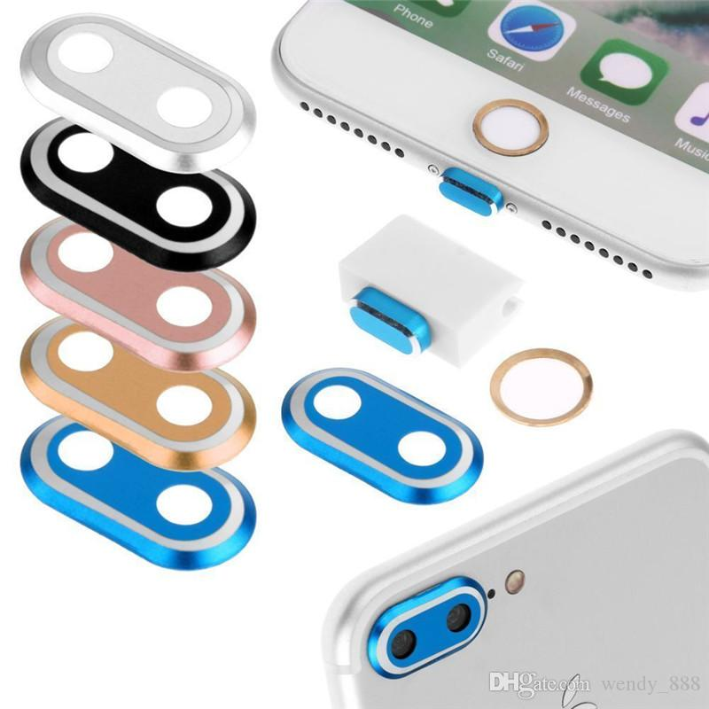 Lot For Samsung Galaxy Series Metal Home Button Sticker Protective Case Skin