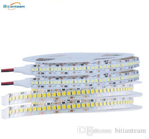 A luz de tira do diodo emissor de luz 5M 2835 SMD CC 12V 240LEDs / M IP65 impermeável IP33 A fita flexível do diodo emissor de luz da corda do diodo emissor de luz ilumina a decoração da noite