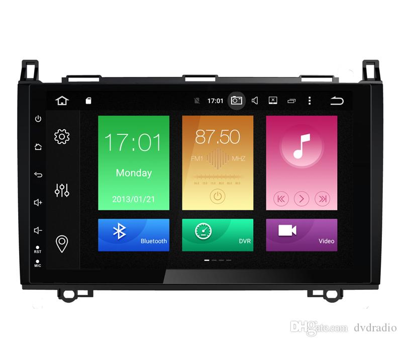 """9"""" Octa-Core Android 8.0/9.0 Auto Car DVD For Mercedes-Benz B200 Vito Viano W245 W906 A160 W639 Crafter B150 GPS Navi WIFI 4G RAM 32/64G ROM"""