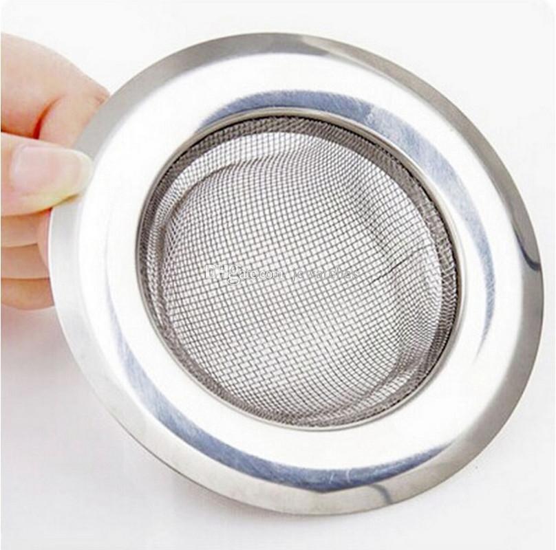 stainless steel round floor drain kitchen sink filter sewer drain hair colanders strainers filter bathroom. beautiful ideas. Home Design Ideas