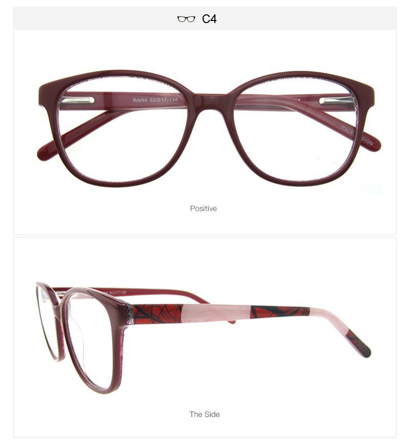 New Luxury Brand Designer Men Women Glasses Frames Vintage Woman ...