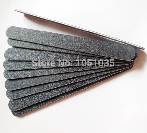 Wholesale High Quality Plastic Thin Nail File 100/180 Nail Emery ...