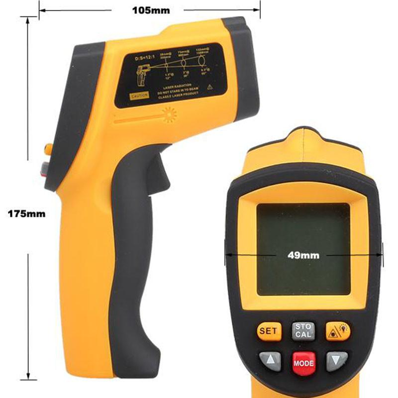 Infrared thermometer GM1150 (2)