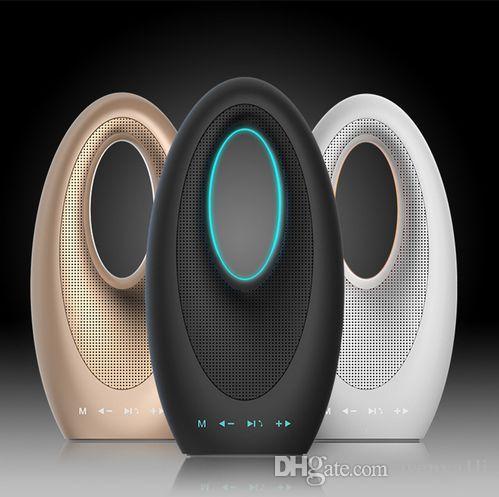 Dubai Sailing Hotel Touch Bluetooth Bass Sound Card Speaker with FM Radio Hands-free Mic