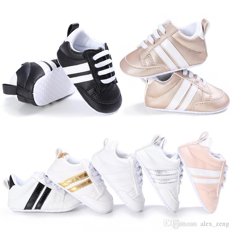 14 Designs Children Soft Bottom Sneakers Shoes Fashion Baby Boys Girls First Walkers Baby Indoor Non-slip Toddler Casual Kids Shoes