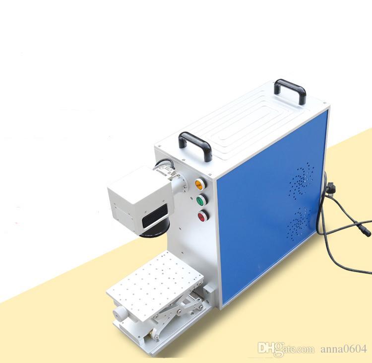20w macchina per incisione laser in fibra di metallo incisore laser cutter