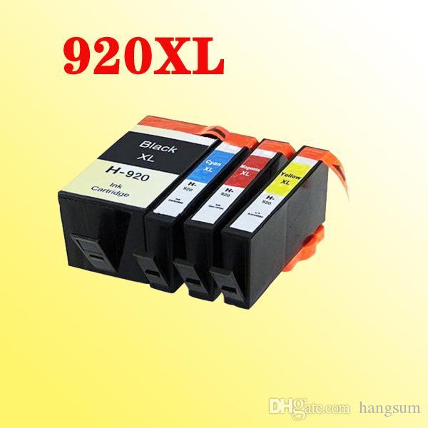 2 Unidades (2x4 piezas) 920 920XL cartuchos de tinta compatible para HP Officejet 6000 6500 HP7500 7000